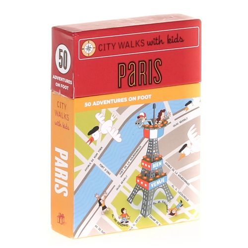 Chronicle Books Game: City Walks With Kids: Paris at up to 95% Off - Swap.com