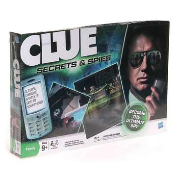 Game: Clue Secrets and Spies for Sale on Swap.com
