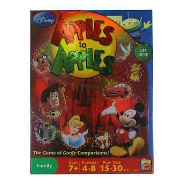 Game: Disney Apples To Apples - The Game Of Goofy Comparisons for Sale on Swap.com