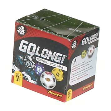 Game: GoLong! The Football Dice Game for Sale on Swap.com