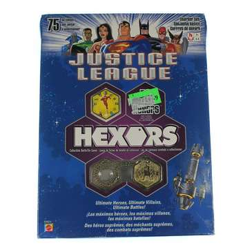 Game: Justice League Hexors Collectible Battle Tile Game Starter Set for Sale on Swap.com