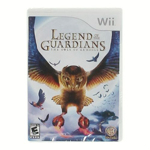 Wii Game: Legend Of The Guardians at up to 95% Off - Swap.com