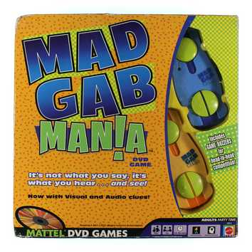 Game: Mad Gab Mania for Sale on Swap.com