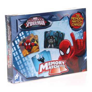 Game: Memory Match Game-Spider-Man by Cardinal for Sale on Swap.com