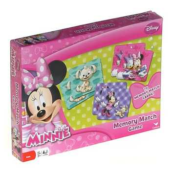 Game: Minnie Mouse 36766 Memory Match Game for Sale on Swap.com
