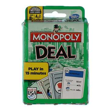 Game: Monopoly Deal Card Game for Sale on Swap.com