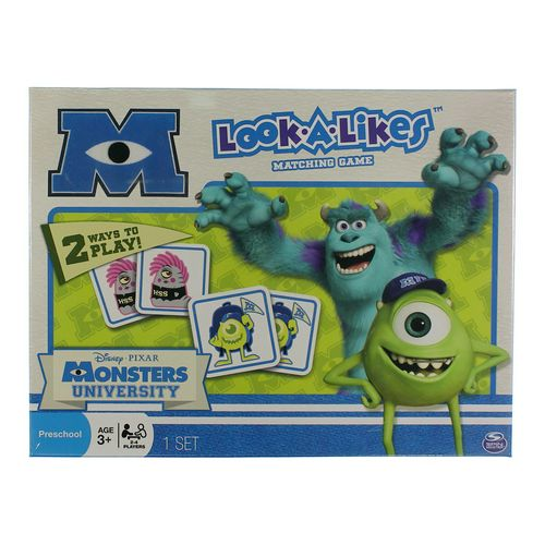 Spin Master Game: Monsters University Look A Likes Matching Game at up to 95% Off - Swap.com
