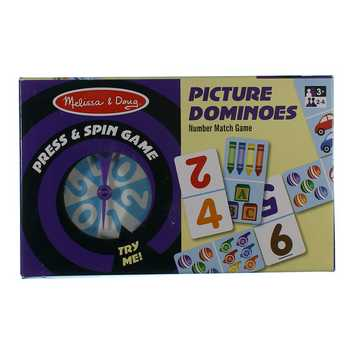Game: Press and Spin Game: Picture Dominoes for Sale on Swap.com
