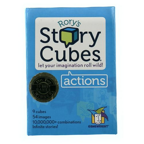 Game Wright Game: Rory's Story Cubes at up to 95% Off - Swap.com