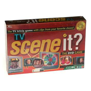 Game: Scene it? TV DVD Edition for Sale on Swap.com