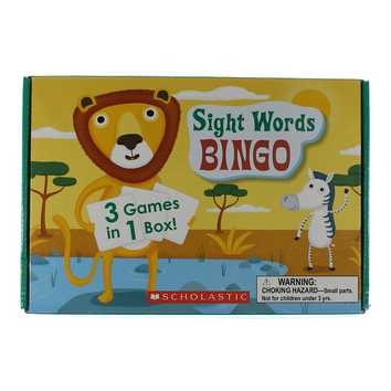 Game: Sight Word Bingo for Sale on Swap.com