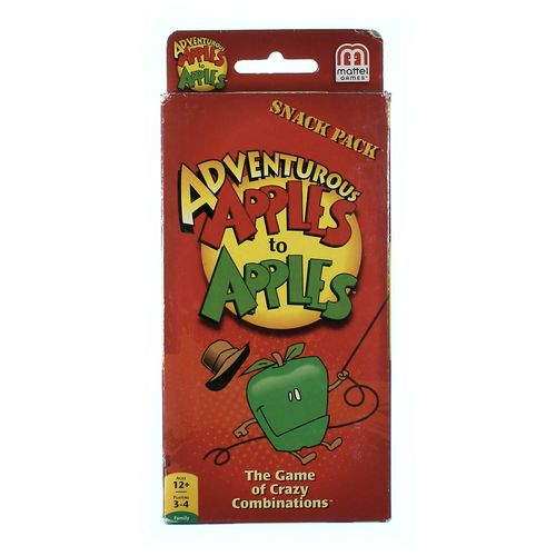 Mattel Game: Snack Pack Apples To Apples at up to 95% Off - Swap.com