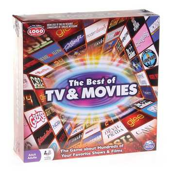 Game: Spin Master The Best of TV & Movies Board Game Adult for Sale on Swap.com