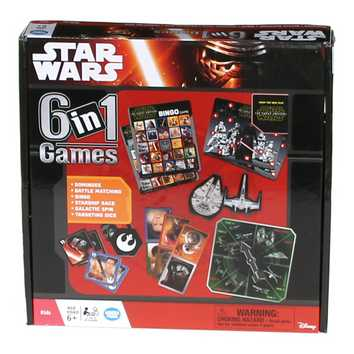 Game: Star Wars 6-in-1 Game Set for Sale on Swap.com