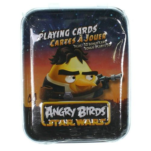 Star Wars Game: Star Wars Angry Birds Deck in Tin at up to 95% Off - Swap.com