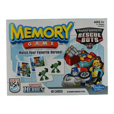 Game: Transformer Rescue Bots Memory Classic Game for Sale on Swap.com