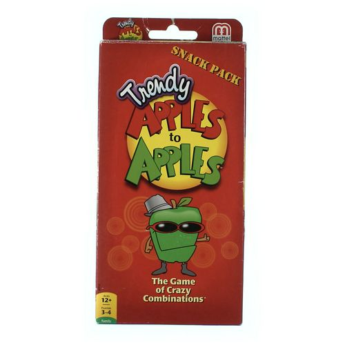 Mattel Game: Trendy Apples To Apples Snack Pack at up to 95% Off - Swap.com