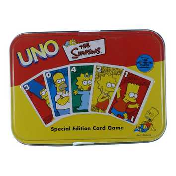 Game: Uno The Simpsons for Sale on Swap.com