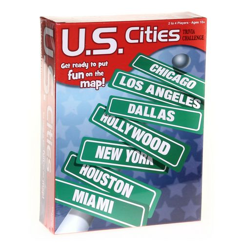 Game: U.S. Cities Trivia Challenge at up to 95% Off - Swap.com
