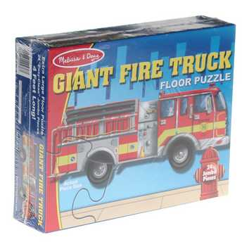 Giant Fire Truck Floor Puzzle for Sale on Swap.com