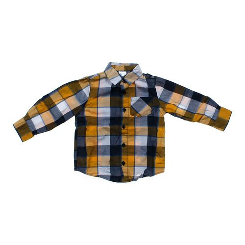 Okie Dokie Gingham Button-up Shirt in size 2/2T at up to 95% Off - Swap.com
