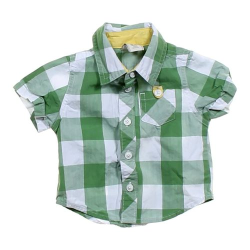 Old Navy Gingham Button-up Shirt in size NB at up to 95% Off - Swap.com