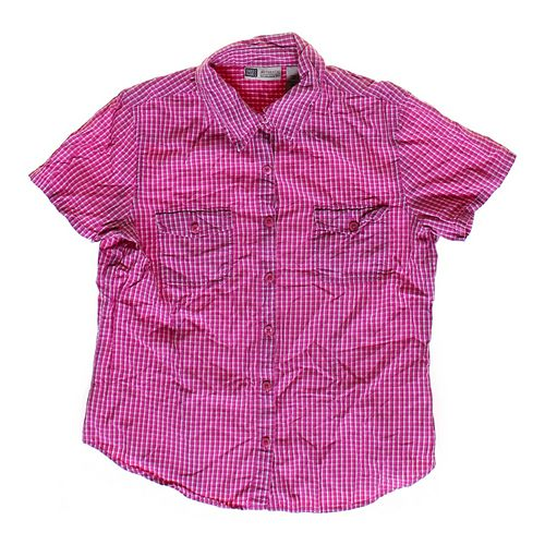 Faded Glory Gingham Button-up Shirt in size JR 3 at up to 95% Off - Swap.com