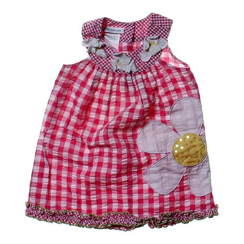 Bonnie Jean Gingham Embellished Dress in size 2/2T at up to 95% Off - Swap.com