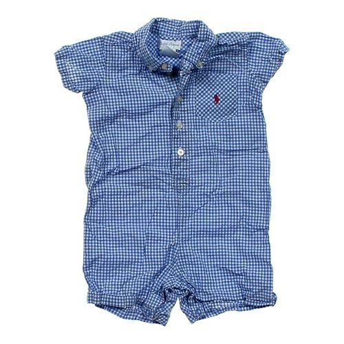 Ralph Lauren Gingham Romper in size 9 mo at up to 95% Off - Swap.com