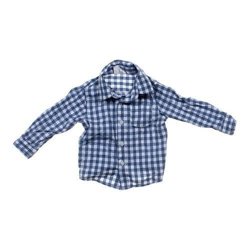 Crazy 8 Gingham Shirt in size 12 mo at up to 95% Off - Swap.com