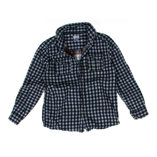 Joe Fresh Gingham Shirt in size 14 at up to 95% Off - Swap.com