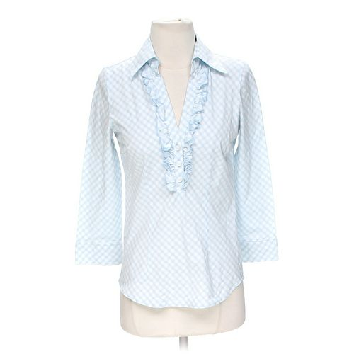 New York & Company Gingham Shirt in size XS at up to 95% Off - Swap.com