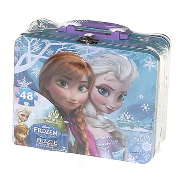 Girls Lunch Box Puzzle in a Tin - Disney Frozen Puzzle for Sale on Swap.com