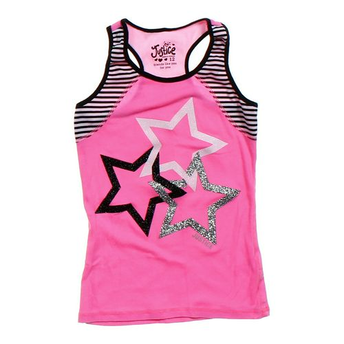 Justice Glitter Stars Tank Top in size 12 at up to 95% Off - Swap.com