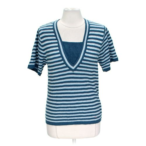 Cathy Daniels Glittering Striped Sweater in size L at up to 95% Off - Swap.com