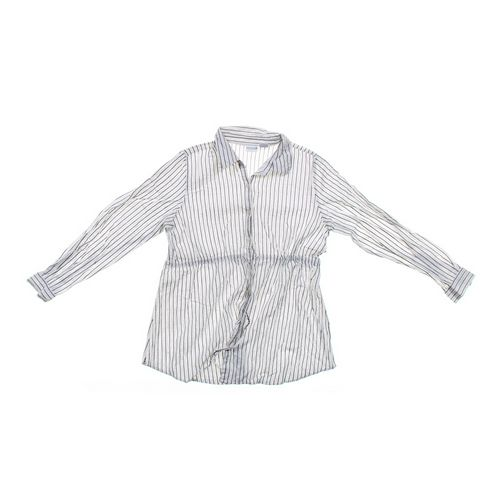 In Due Time Glittery Maternity Button-up Shirt in size L at up to 95% Off - Swap.com
