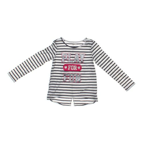 The Children's Place Glittery Striped Shirt in size 10 at up to 95% Off - Swap.com