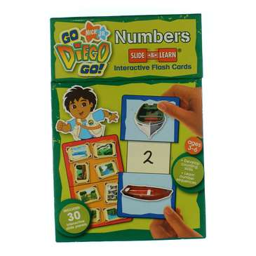 Go Diego Go! Numbers Slide & Learn Flash Cards for Sale on Swap.com