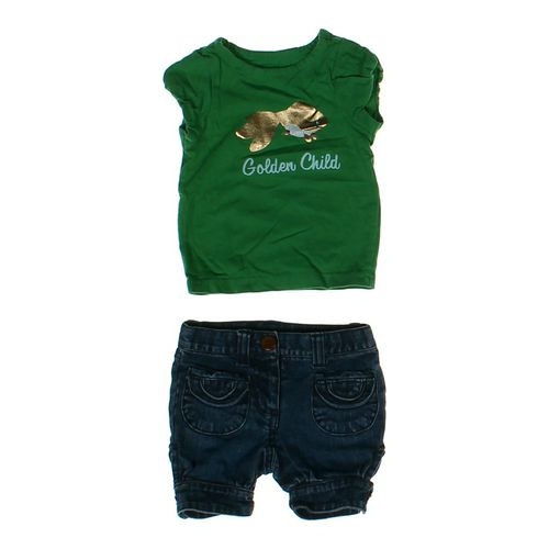 """Crazy 8 """"Golden Child' Outfit in size 6 mo at up to 95% Off - Swap.com"""
