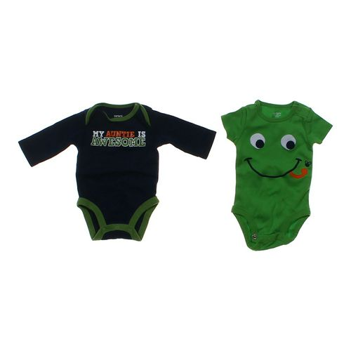 Carter's Graphic Bodysuit Set in size NB at up to 95% Off - Swap.com