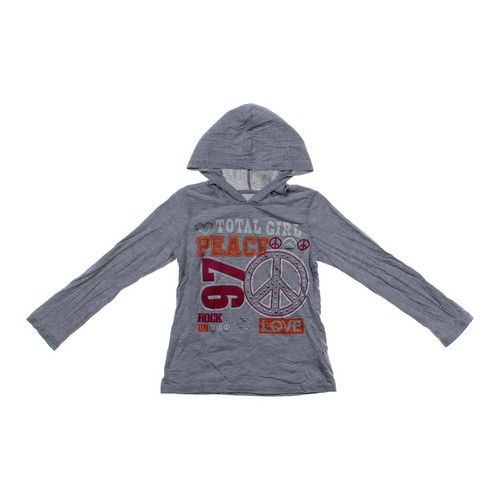Total Girl Graphic Hoodie in size 10 at up to 95% Off - Swap.com