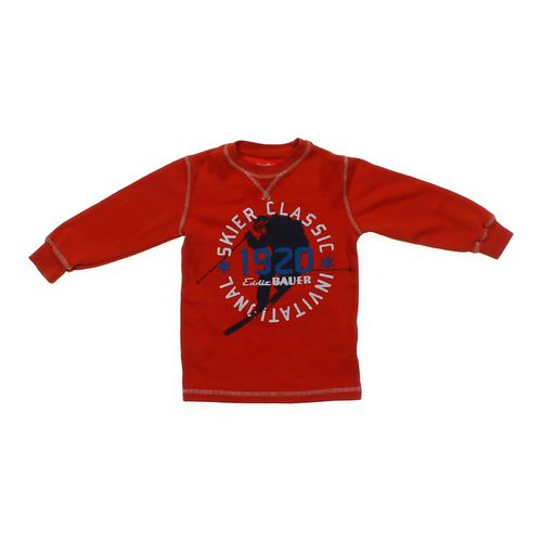 Eddie Bauer Graphic Long Sleeve Shirt in size 4/4T at up to 95% Off - Swap.com