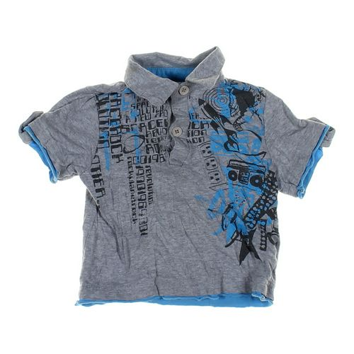 SQZ Graphic Polo Shirt in size 12 mo at up to 95% Off - Swap.com