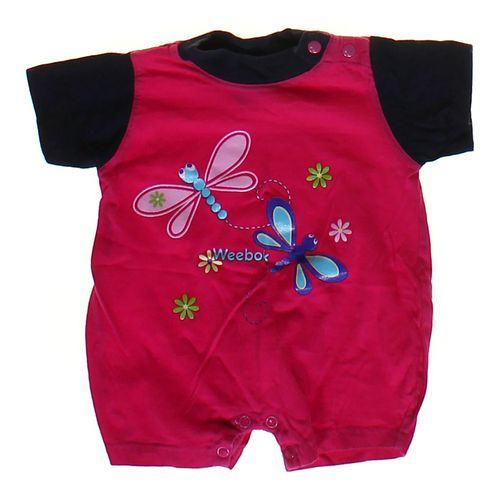 Weebok Graphic Romper in size 3 mo at up to 95% Off - Swap.com