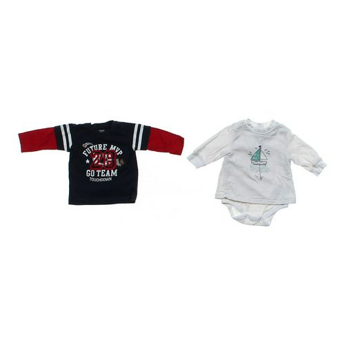 Carter's Graphic Shirt & Bodysuit Set in size 3 mo at up to 95% Off - Swap.com