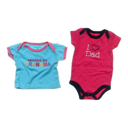 Luvable Friends Graphic Shirt & Bodysuit Set in size 3 mo at up to 95% Off - Swap.com