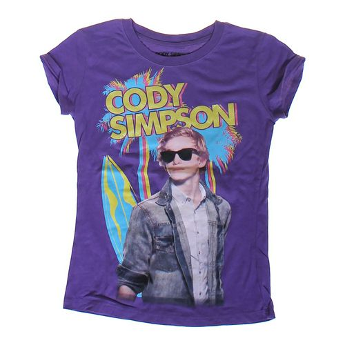Cody Simpson Graphic T-shirt in size 10 at up to 95% Off - Swap.com
