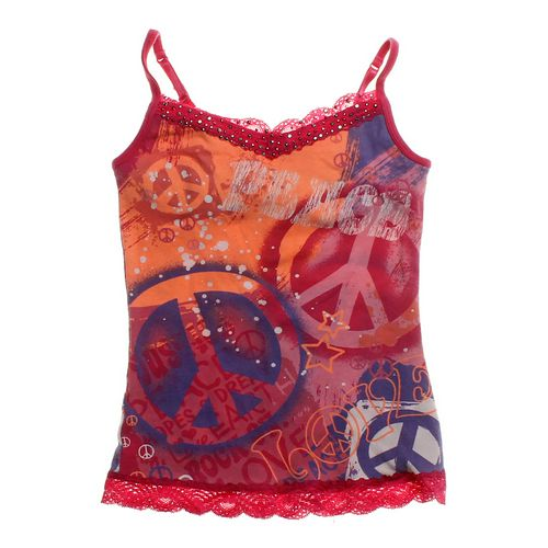 Justice Graphic Tank Top in size 8 at up to 95% Off - Swap.com