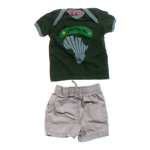 Krag Drag Graphic Tee and Shorts Set in size 3 mo at up to 95% Off - Swap.com