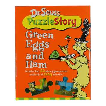 Green Eggs and Ham Dr. Suess Puzzle Story for Sale on Swap.com